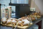 scelta di croissant buffet colazioni hotel